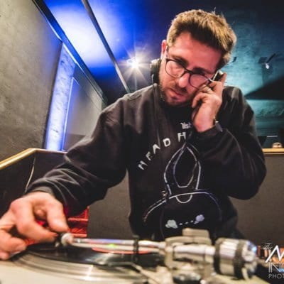 DJ Todd Simon in Tangier